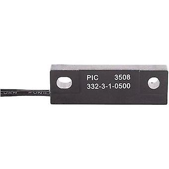 PIC MS-332-6 Reed-Sensor MS-332 1 closure 1.5 A 50 W