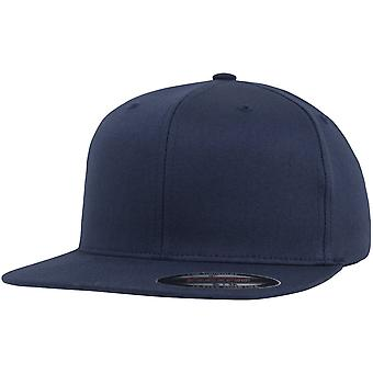 Visiera piana Flexfit fitted Cap - blu marino