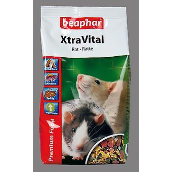 Beaphar Xtravital Rat voedsel 500g