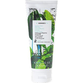 Korres Mint Tea Body Milk Frische Töne