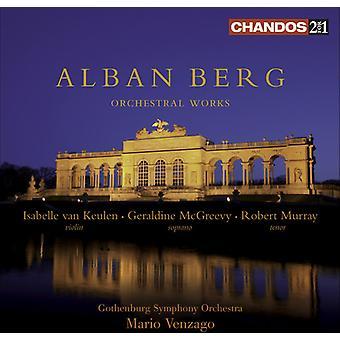 A. Berg - Alban Berg: Orchestral Works [Sacd] [SACD] USA import