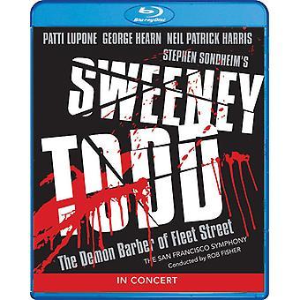 Sweeney Todd: Demon Barber Fleet Street i koncert [Blu-ray] USA import