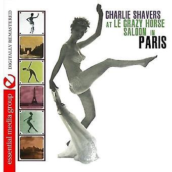 Charlie Shavers - presso Le Crazy Horse Saloon in importazione USA Parigi [CD]