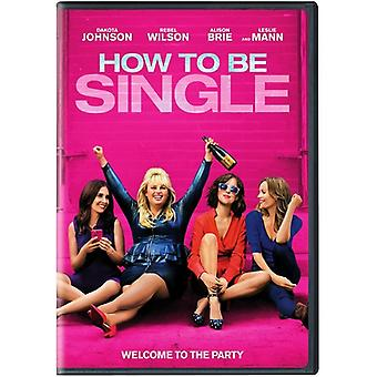 How to Be Single [DVD] USA import