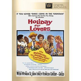 Holiday for Lovers [DVD] USA import