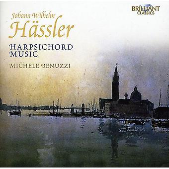 Johann Wilhelm Hassler - Johann Wilhelm H Ssler: Cembalo musik [CD] USA import