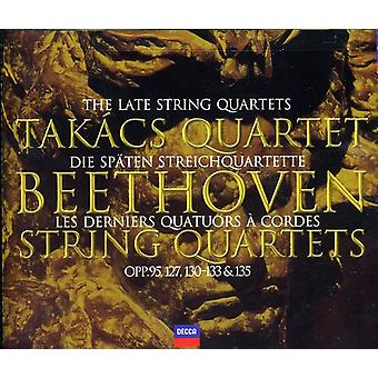 Takacs Quartet - Beethoven: The Late String Quartets [CD] USA import