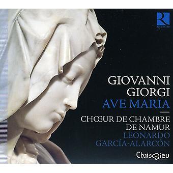 Namur Kammerkor - Giovanni Giorgi: Ave Maria [CD] USA import