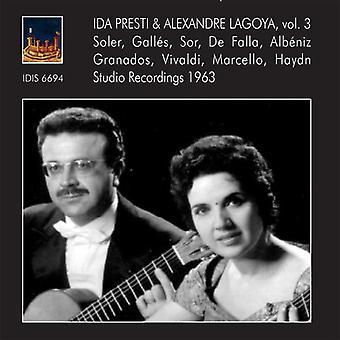 Lagoya & Presti - bind 3 [CD] USA importerer