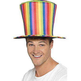 Rainbow Zylinder Riesen Hut Gay Pride Regenbogen