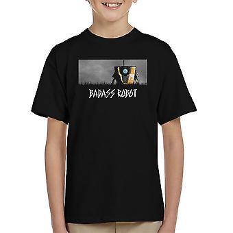 Badass Robot Borderlands børne T-Shirt