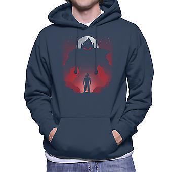 Dragon Ball Z Fighting Oozaru Men's Hooded Sweatshirt