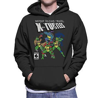 Felpa con cappuccio da mutanti In un mezzo guscio X tartarughe TMNT X uomini