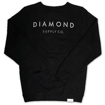 Diamond Supply Co Yacht Typ Sweatshirt schwarz
