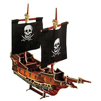 Legler Pirate Ship 3D  jack  (Toys , Boardgames , Puzzles)