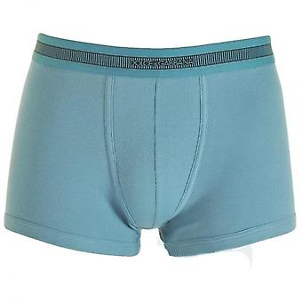 Dolce & Gabbana Stretch Ribbed Cotton Regular Boxer, Dark Light Blue, Small