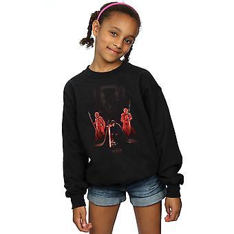 Star Wars Girls The Last Jedi Kylo Ren Kneeling Sweatshirt