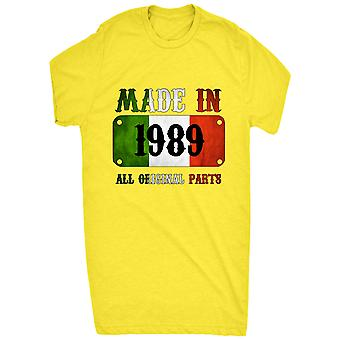 Kända tillverkad i Italien 1989 alla originaldelar