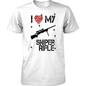 Amo mio Sniper Rifle - giocatore ispirato Arcade sparatutto - Mens T Shirt