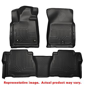 Husky Liners 99591 Black WeatherBeater Front & 2nd Seat FITS:TOYOTA 2012 - 2013