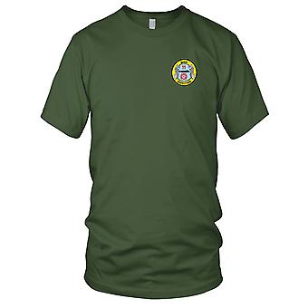 USA marynarki marynarki sklep 11 Shipfitters Submarine Division haftowane Patch - dzieci T Shirt