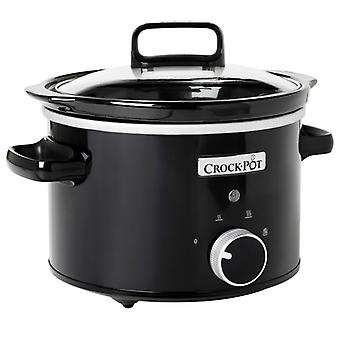 CROCK POT Slow Cooker 2, 4 l Manual black