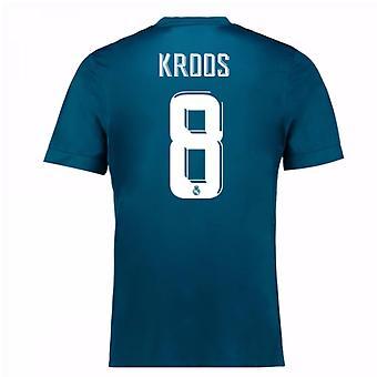 2017-18 Real Madrid Third Shirt (Kroos 8) - Kids