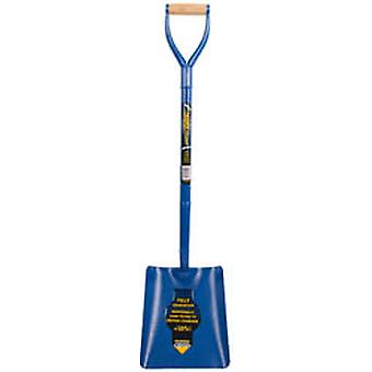 Draper 64327 Expert Solid Forged Contractors Square Mouth Shovel