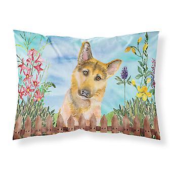 German Shepherd #2 Spring Fabric Standard Pillowcase