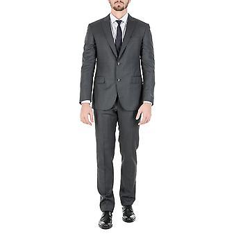 Pal Zilieri Mens Suit Dark Grey