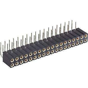 Pin strip (precision) No. of rows: 2 Pins per row: 18 BKL Electronic 10120819 1 pc(s)