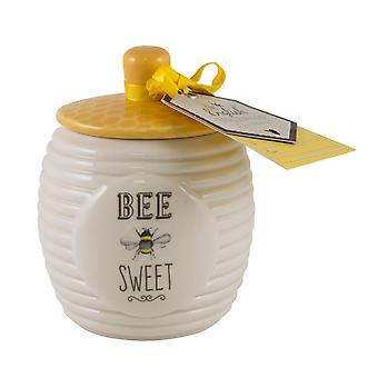English Tableware Co. Bee Happy Sugar Pot
