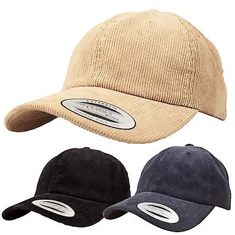 Flexfit LOW PROFILE corduroy Strapback DAD corduroy Cap