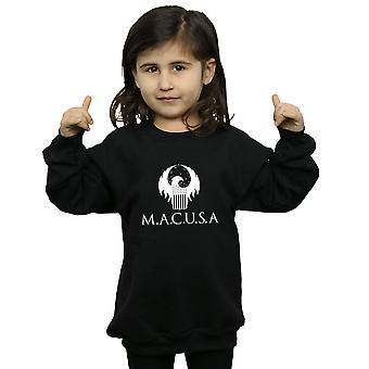 Fantastic Beasts Girls MACUSA Logo Sweatshirt