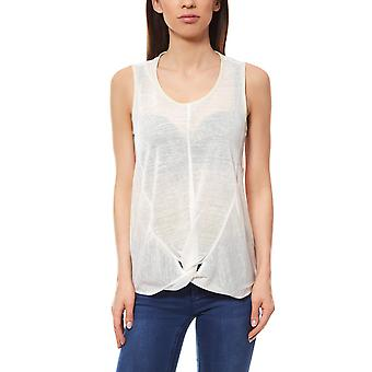 Top contrast piping ladies white vivance collection