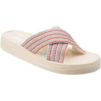 Rocket Dog Womens/Ladies Moon Groovy Gore Casual Summer Flip Flops