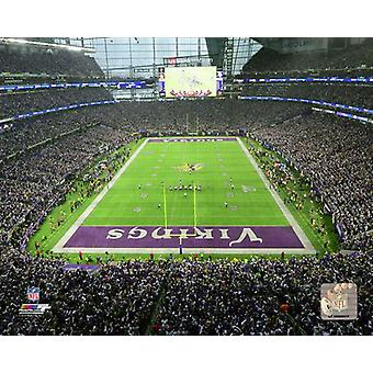 US Bank Stadium 2017 NFC Divisional Playoff Game Photo Print