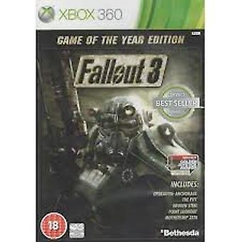 Fallout 3 Game of the Year Edition - Classic (Xbox 360) - Factory Sealed