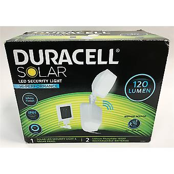 Duracell Solar Security Wall Light with Integrated Motion Detector for Lighting