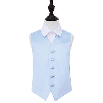Bebé azul llanura novia chaleco para niños