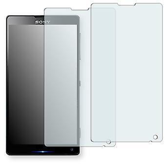 Sony Xperia L35i screen protector - Golebo crystal clear protection film