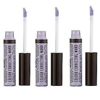 Barry M X 3 Barry M Colour Correcting Wands - Purple