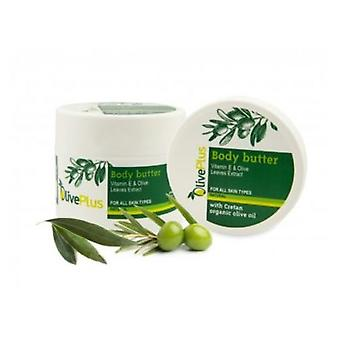 Body butter with olive leaves extracts 200ml.