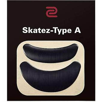 Zowie Speedy Skatez-A Mouse feets Black