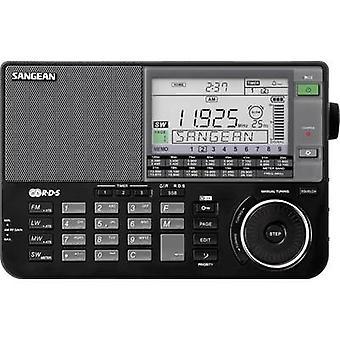 Sangean ATS-909 X International Short Wave AUX, KW, LF/VLF, AM, FM Battery charger Black