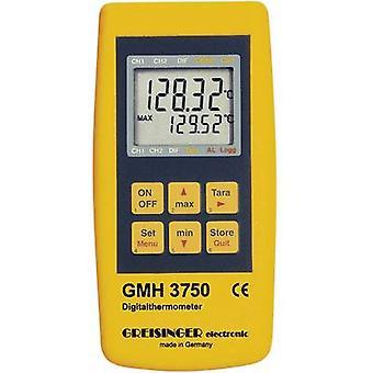 Thermometer Greisinger GMH 3750-GE -199.99 up to +850 °C Sensor