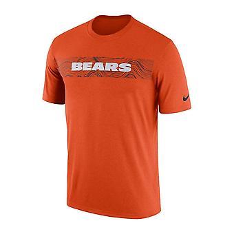 Nike Nfl Chicago Bears zijlijn seismische legende Performance T-shirt