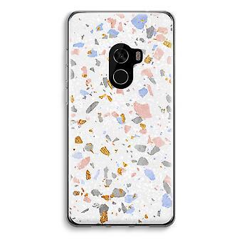 Xiaomi Mi Mix 2 Transparent Case (Soft) - Terrazzo N°8