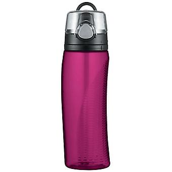 Thermos Magenta Hydration Drinks Water Cosumption monitor Bottle 710ml