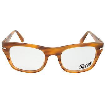 0PO3070V بيرسول 960 مستطيلة | شريطية براون | إطارات النظارات